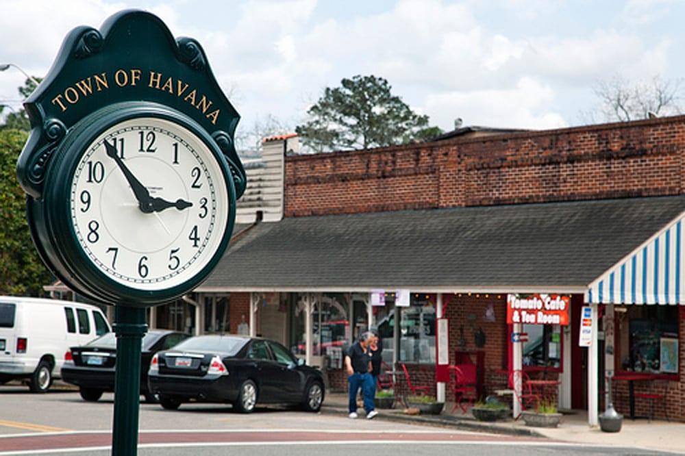 Town of Havana Clock
